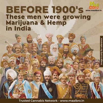 Every Indian Province grew Cannabis